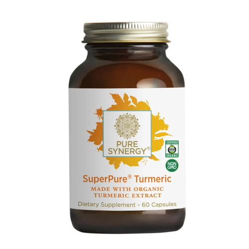 Synergy Company Superpure Turmeric Extract - 60 capsules