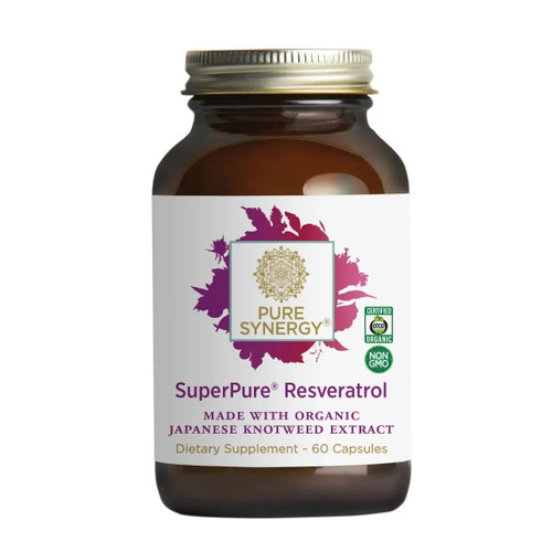 Synergy Company Superpure Resveratrol Extract - 60 capsules