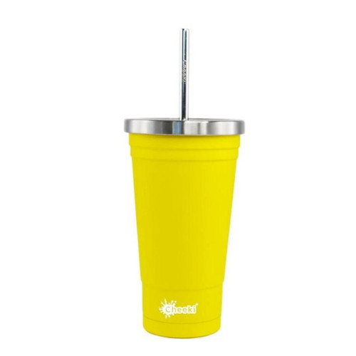 Cheeki Insulated Tumbler (Lemon) - 500ml