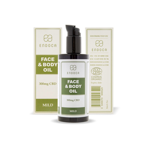 Endoca Face and Body Oil 300mg - 200ml