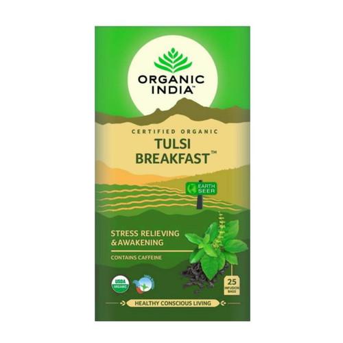 Organic India Tulsi Breakfast Tea - 25 Tea Bags