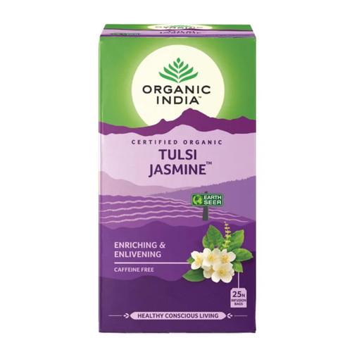 Organic India Tulsi Jasmine Tea - 25 Teabags