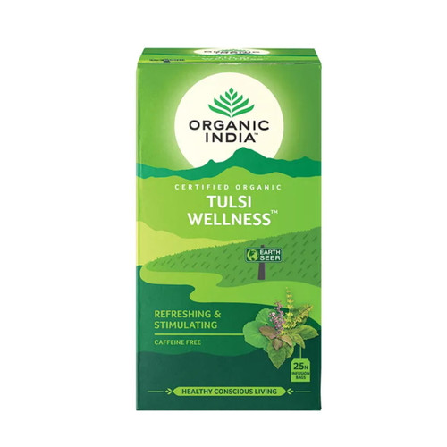 Organic India Wellness Tea - 25 Tea Bags