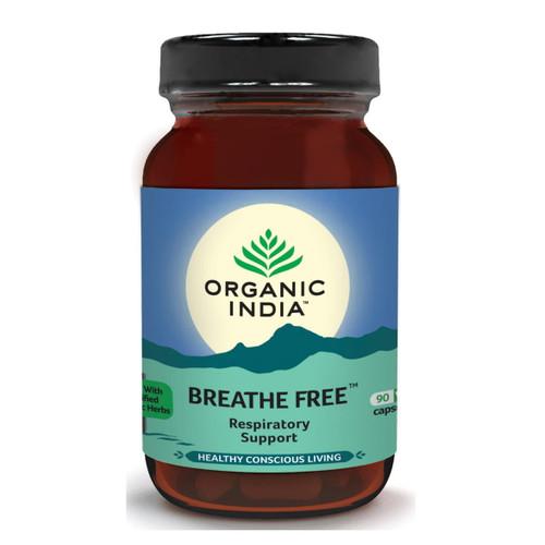 Organic India Breath Free - 90 capsules