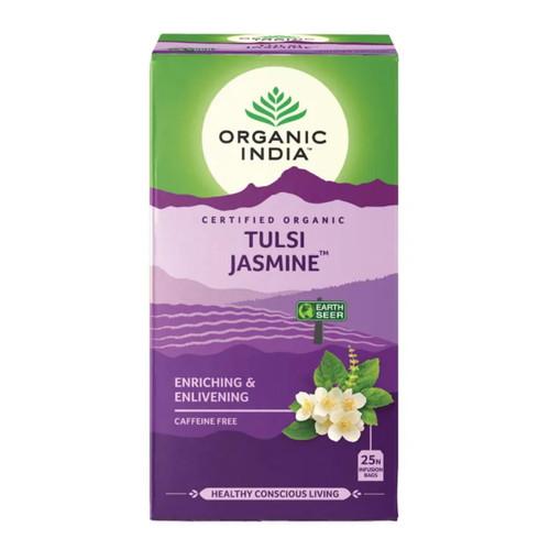 Organic India Tulsi Jasmine Green Tea - 25 Teabags