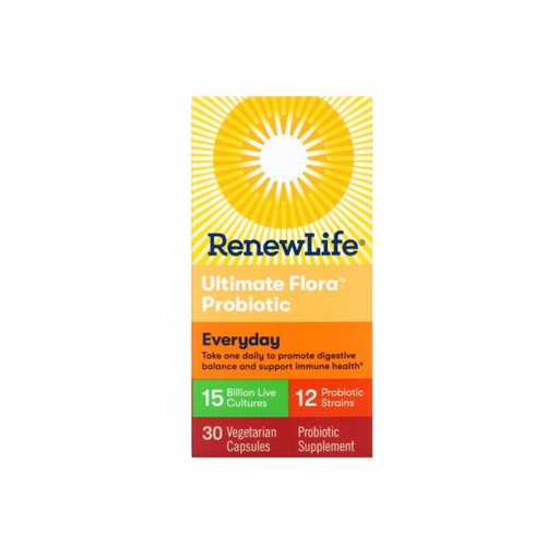 Renew Life Florabiotic Everyday 15 Billions - 30 capsules