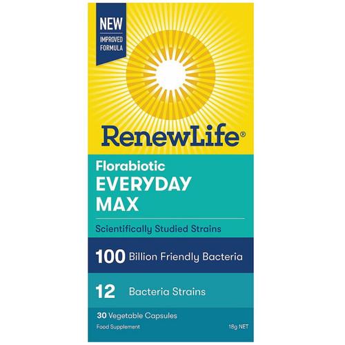 Renew Life Florabiotic Everyday Max 100 Billions - 30 capsules