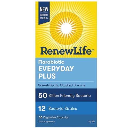Renew Life Florabiotic Everyday Plus 50 Billions - 30 capsules