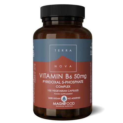 Terranova Vitamin B6 (P5-P) 50mg - 100 capsules