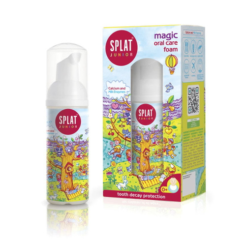 Splat Kids Magic Oral Care Foam with Calcium - 50ml