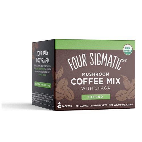 Four Sigmatic Mushroom Coffee Mix with Chaga (Defend) - 10 packets