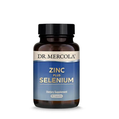 Dr Mercola Zinc plus Selenium - 90 capsules