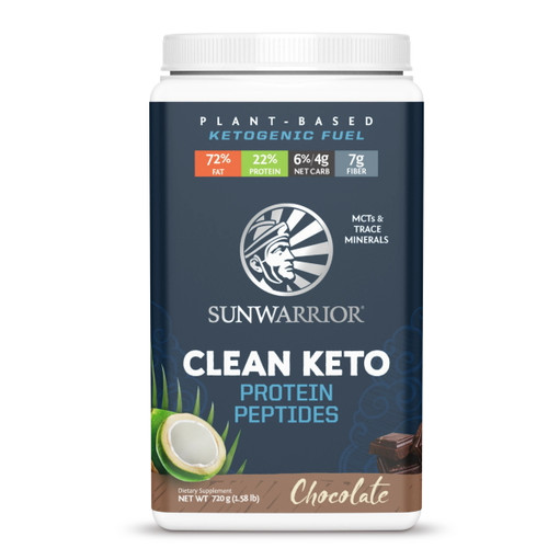 Sunwarrior Clean Keto Chocolate - 720g