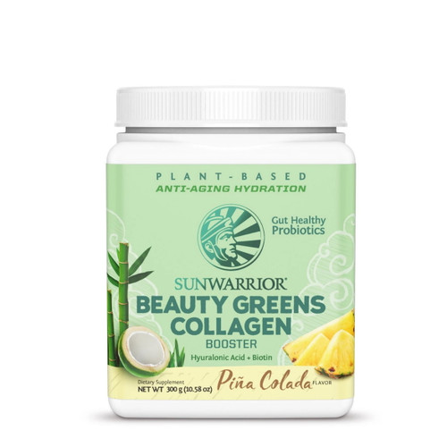 Sunwarrior Beauty Greens Pina Colada - 300g