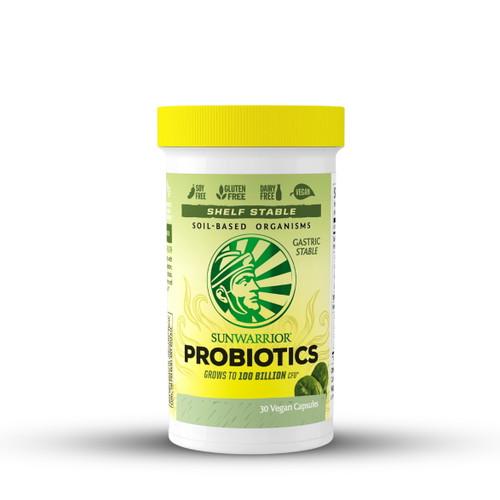 Sunwarrior Probiotics - 30 Capsules