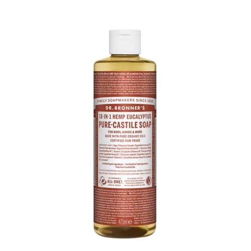 Dr Bronner's Organic Eucalyptus Liquid Soap - 473ml