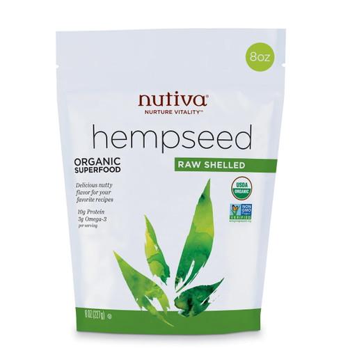 Nutiva Organic Shelled Hempseeds - 227g
