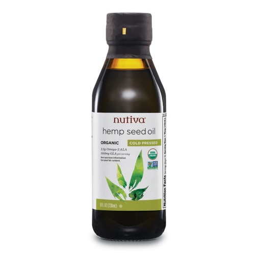 Nutiva Organic Hemp Seed Oil - 236ml