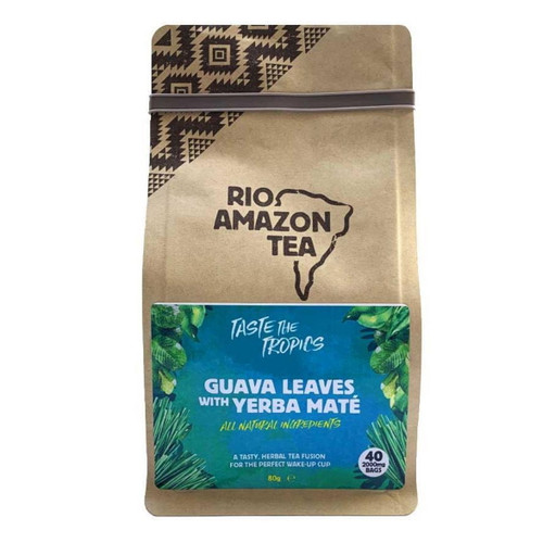 Rio Amazon Guava Leaves with Yerba Mate - 40 Bags