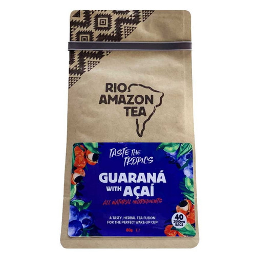 Rio Amazon Guarana & Acai Tea - 40 Bags