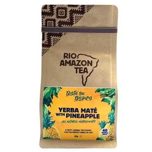 Rio Amazon Yerba Mate & Pineapple & Mint Tea - 40 Bags
