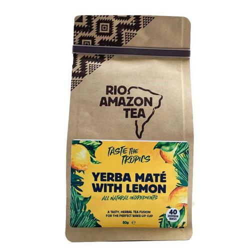 Rio Amazon Yerba Mate & Lemon Tea - 40 Bags