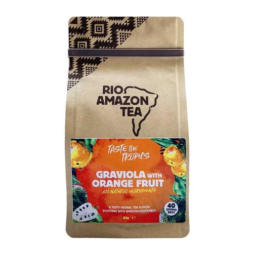 Rio Amazon Graviola & Orange Fruit Tea - 40 Bags