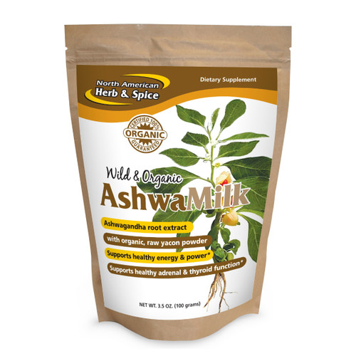 North American Herb & Spice Ashwa Milk - 100g