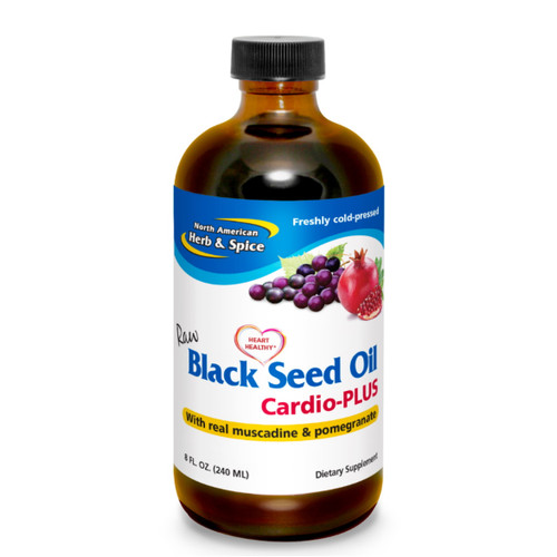 North American Herb & Spice Black Seed Cardio PLUS - 240ml