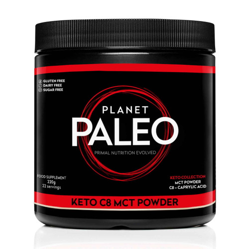 Planet Paleo Keto C8 MCT Powder - 220g