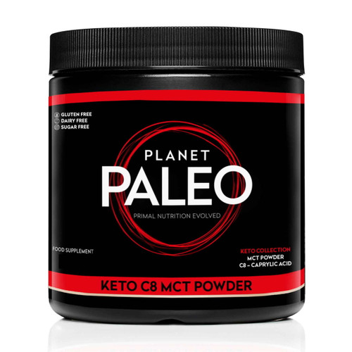 Planet Paleo Keto C8 MCT Powder - 440g