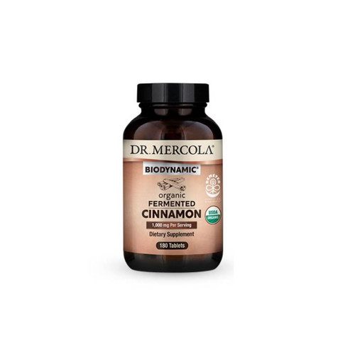 Dr Mercola Organic Fermented Cinnamon - 180 tablets