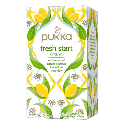 Pukka Fresh Start Tea - 20 bags