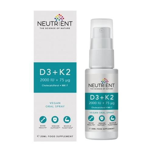 Neutrient Vitamin D3 (2000 IU) + K2