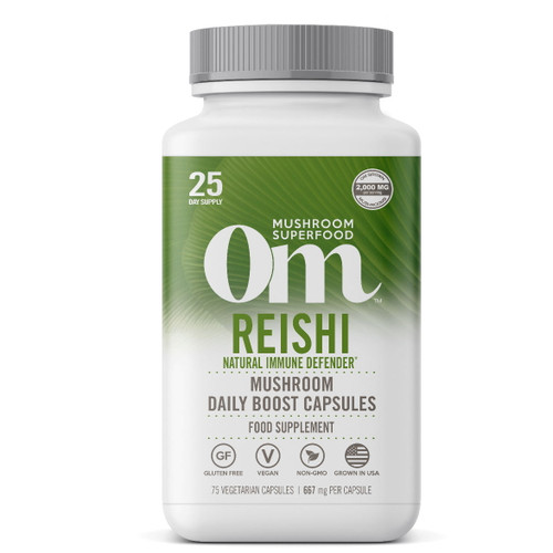 Om Organic Mushroom Nutrition Reishi - 75 capsules