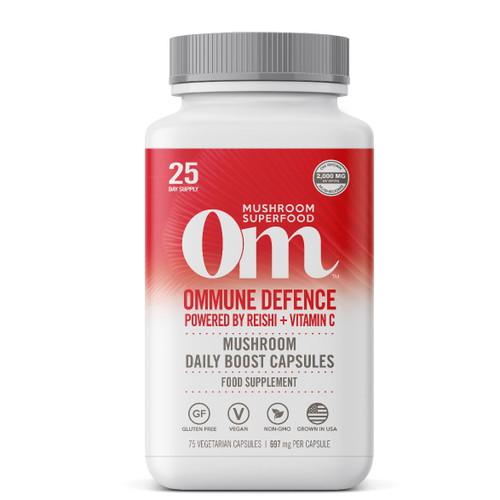 Om Organic Mushroom Nutrition Ommune Defence - 75 capsules