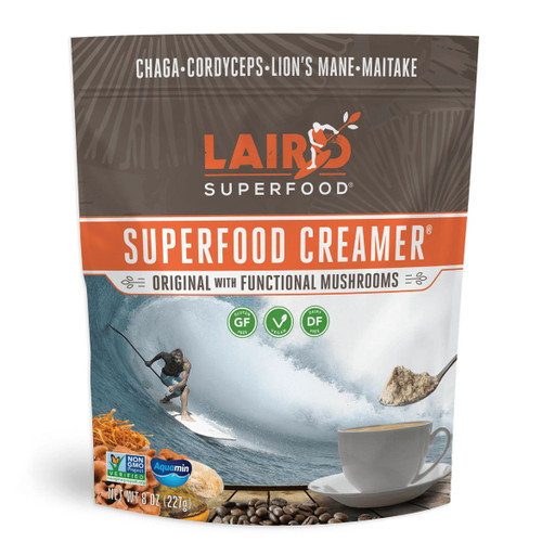 Laird Original Superfood Creamer with Functional Mushrooms - 227g
