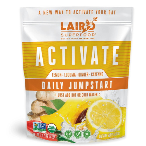 Laird Organic Activate Daily Jumpstart - 77g