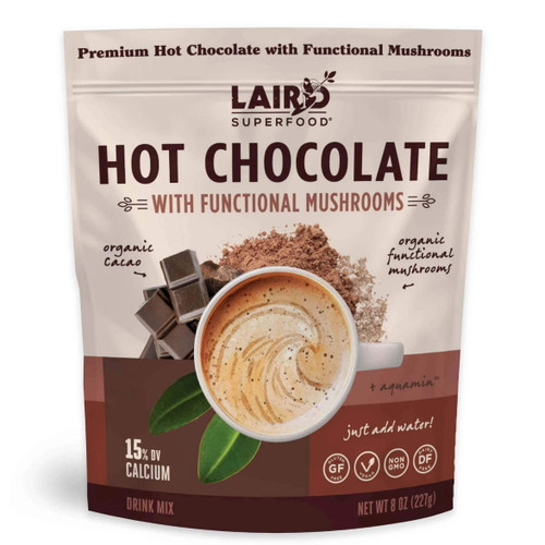 Laird Hot Chocolate with Functional Mushrooms - 227g