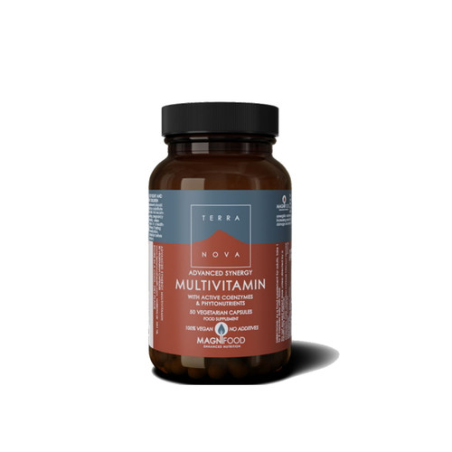 Terranova Advanced Synergy Multivitamin - 50 capsules