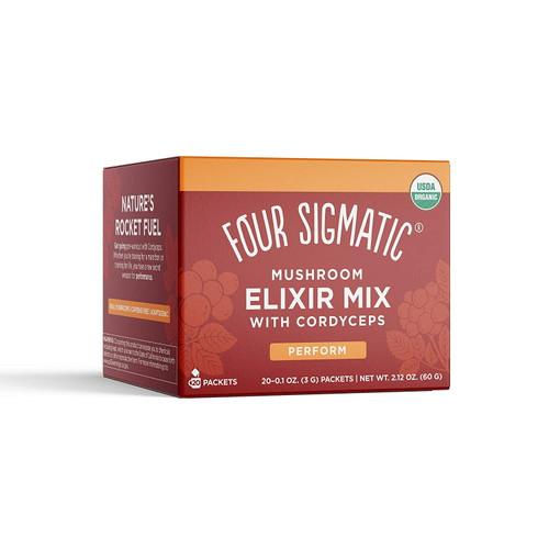 Four Sigmatic Cordyceps Mushroom Elixir Mix with Schisandra - 20 packets