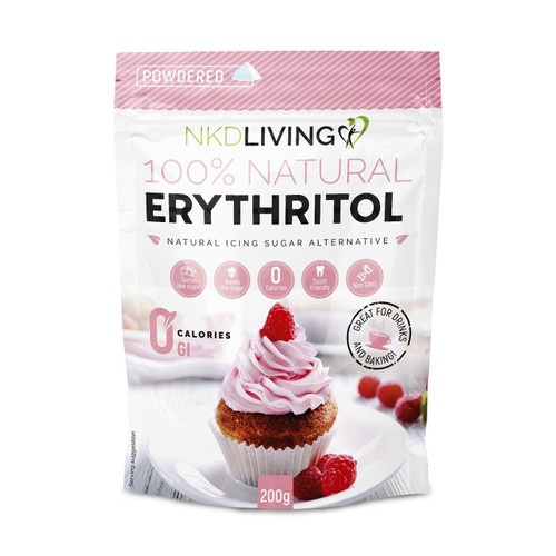 NKD Living Powdered Erythritol - 200g