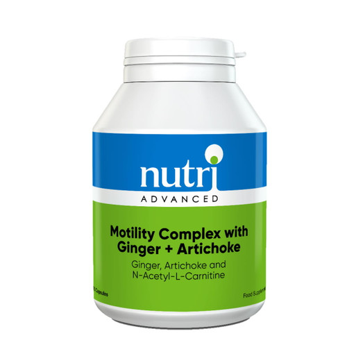 Nutri Advanced Motility Complex with Ginger + Artichoke - 60 Capsules