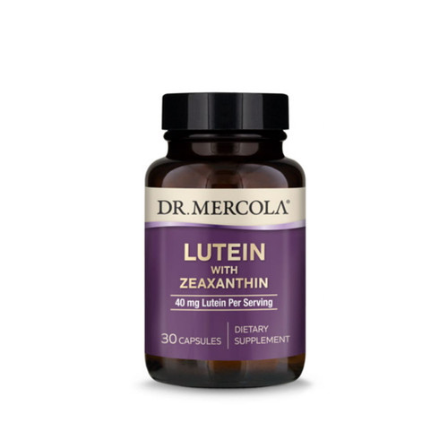 Dr Mercola Lutein with Zeaxanthin - 30 capsules