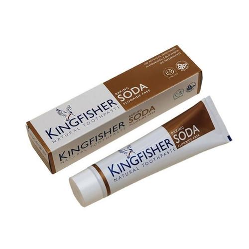 King Fisher Baking Soda Toothpaste (Fluoride Free) - 100ml