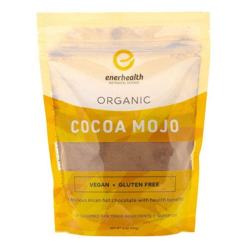 Enerhealth Organic (Adaptogenic) Cocoa Mojo - 340.5g