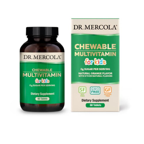Dr Mercola Children's Chewable Multivitamin - 60 tablets