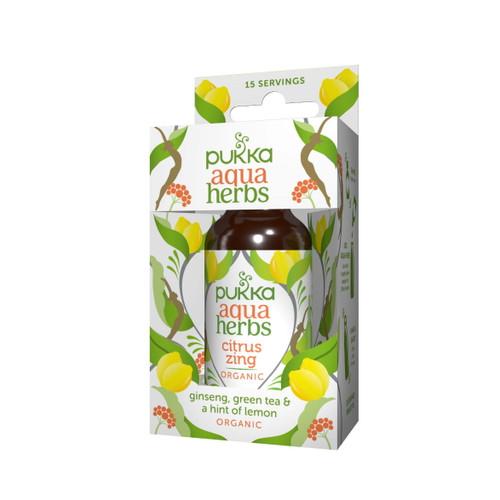 Pukka Organic Aqua Herbs (Citrus Zing) - 30ml