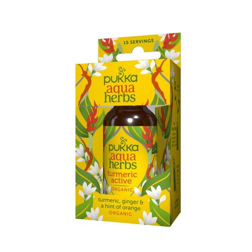 Pukka Organic Aqua Herbs (Turmeric Active) - 30ml