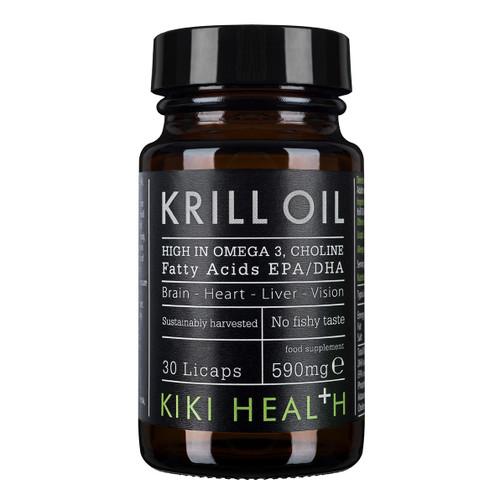Kiki Health Krill Oil - 30 Licaps